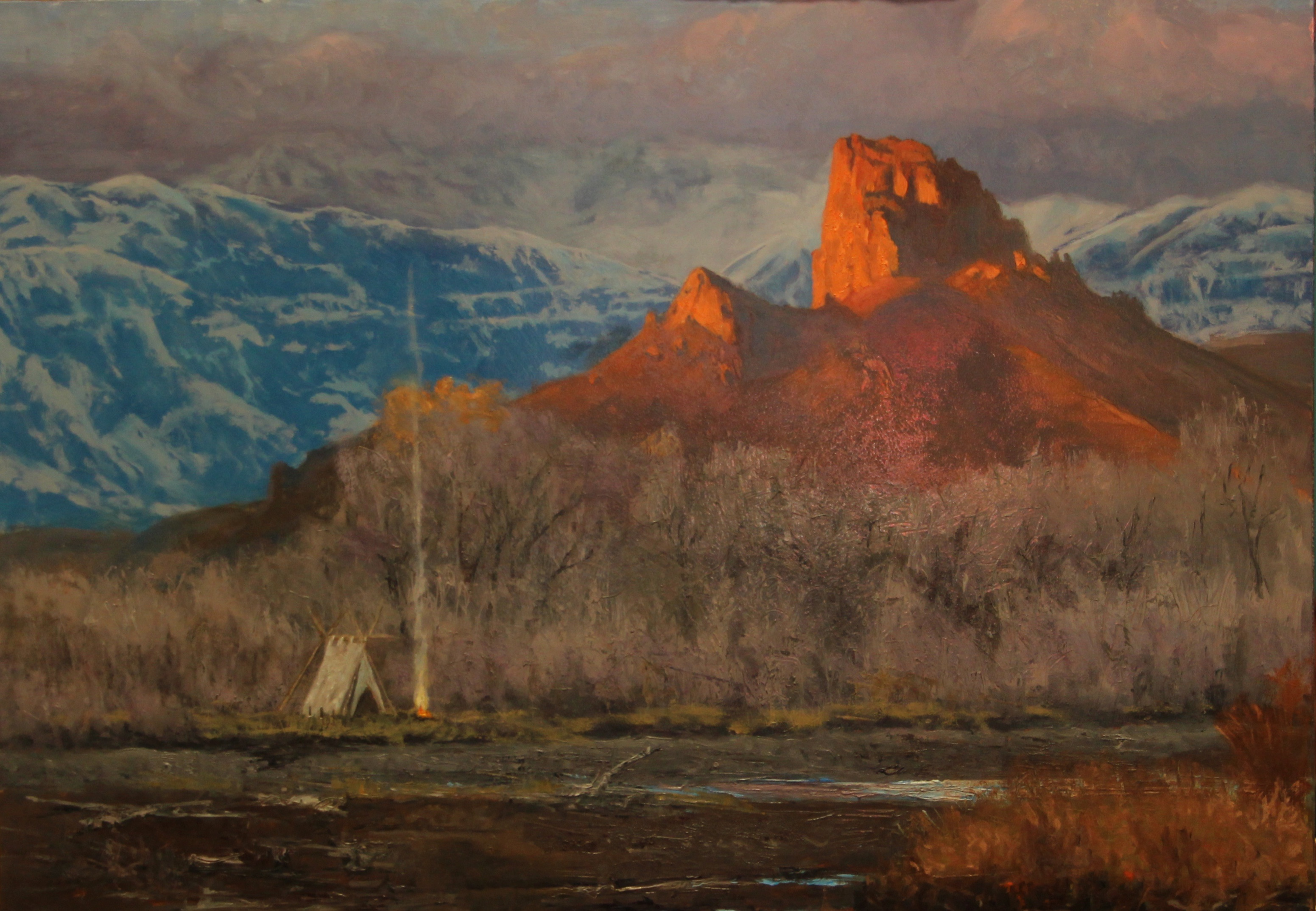 Camp at Castle Rock