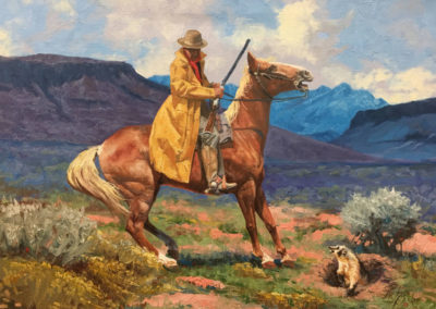 Encounter at Square Butte